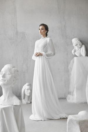 שמלות כלה שרוול ארוך